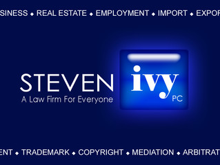 STEVEN IVY P.C. is an Illinois law firm focusing on business law, real estate law, IP law, mediation