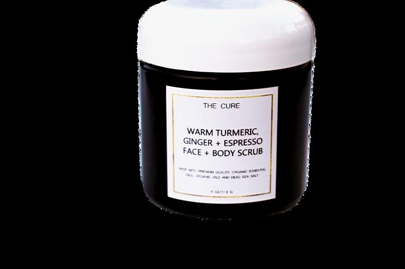 Warm Turmeric + Espresso Face + Body Scrub