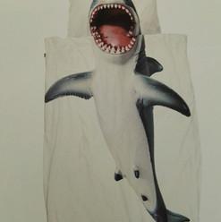 Kinderbettwäsche SNURK Hai