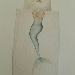 Kinderbettwäsche SNURK Meerjungfrau