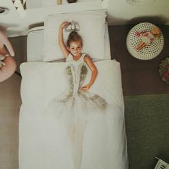 Kinderbettwäsche SNURK Ballerina