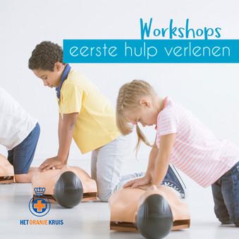 LAIGB event EHBO workshops Oranje Kruis.