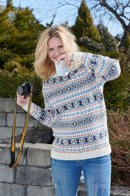 SKYLAR - fair isle genser for dame og herre
