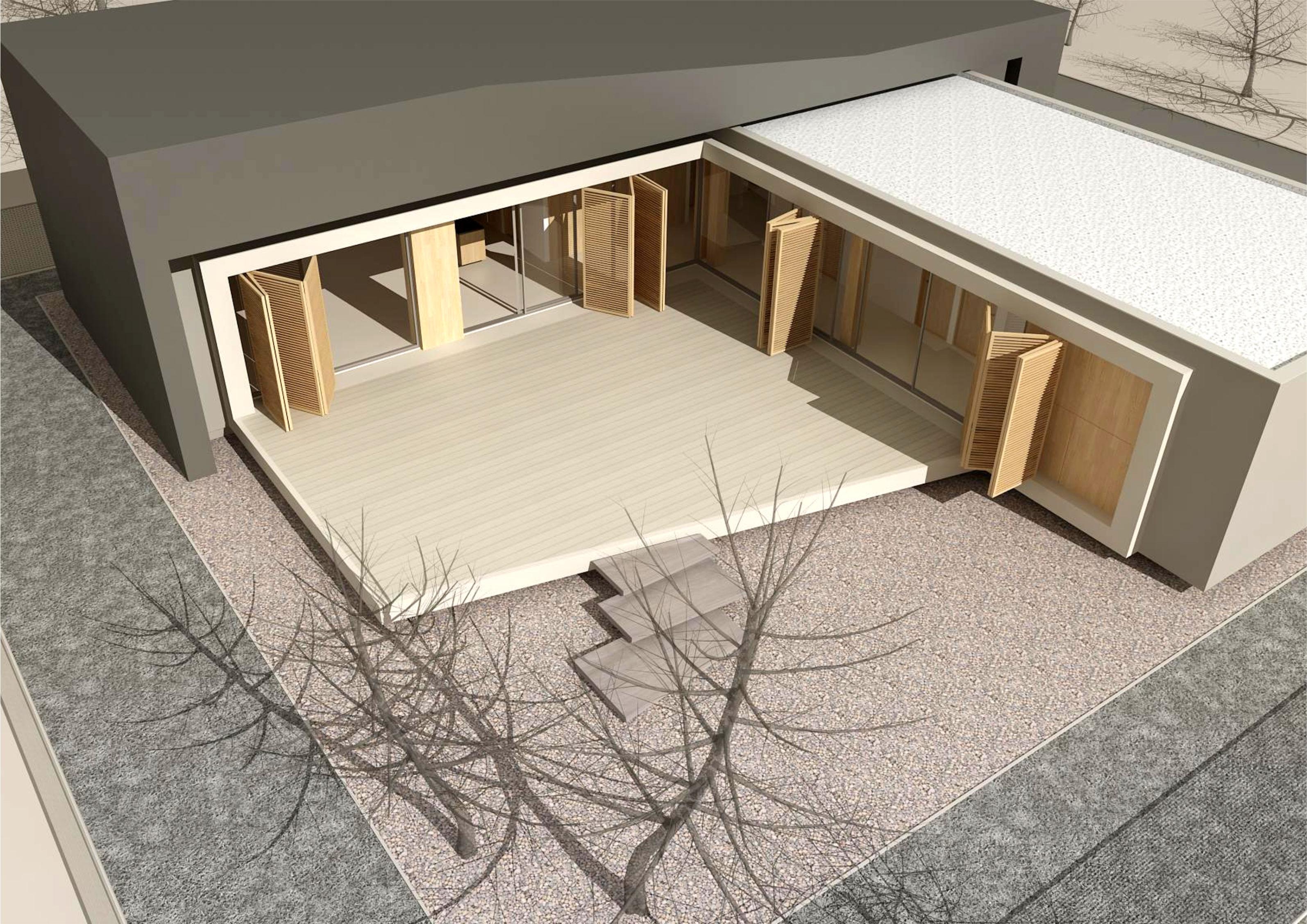 Projekt stavby rodinného domu VII 06