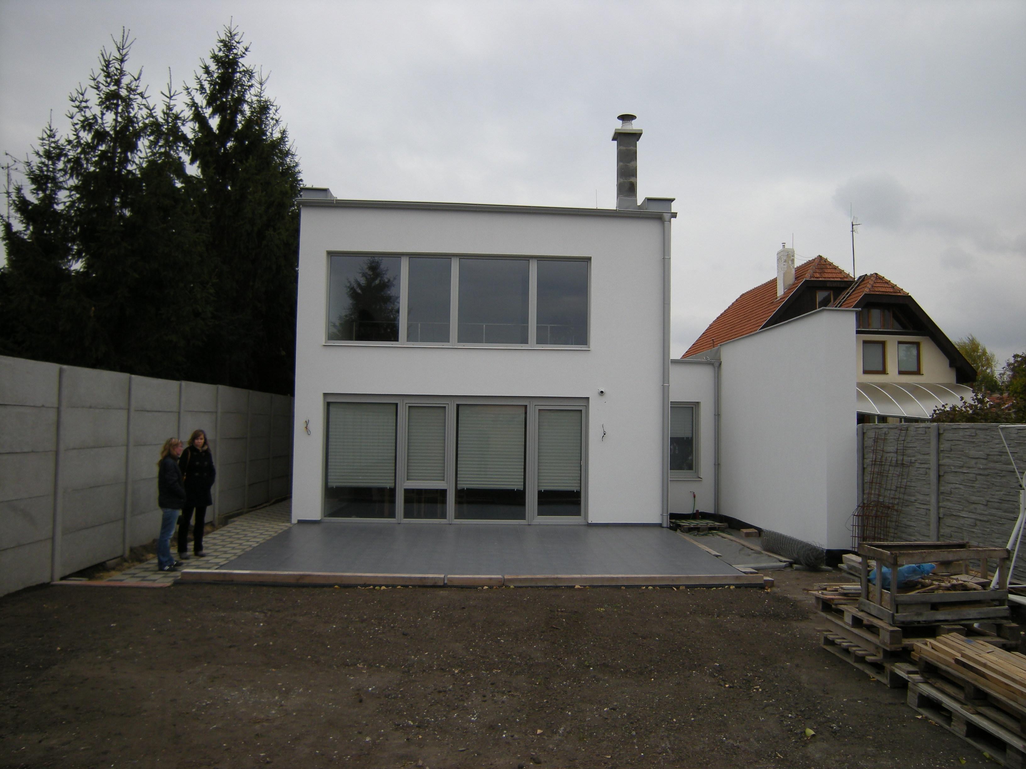 Projekt stavby rodinného domu V 04