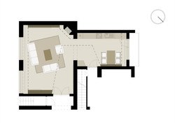 Projekt interiéru RD I 09