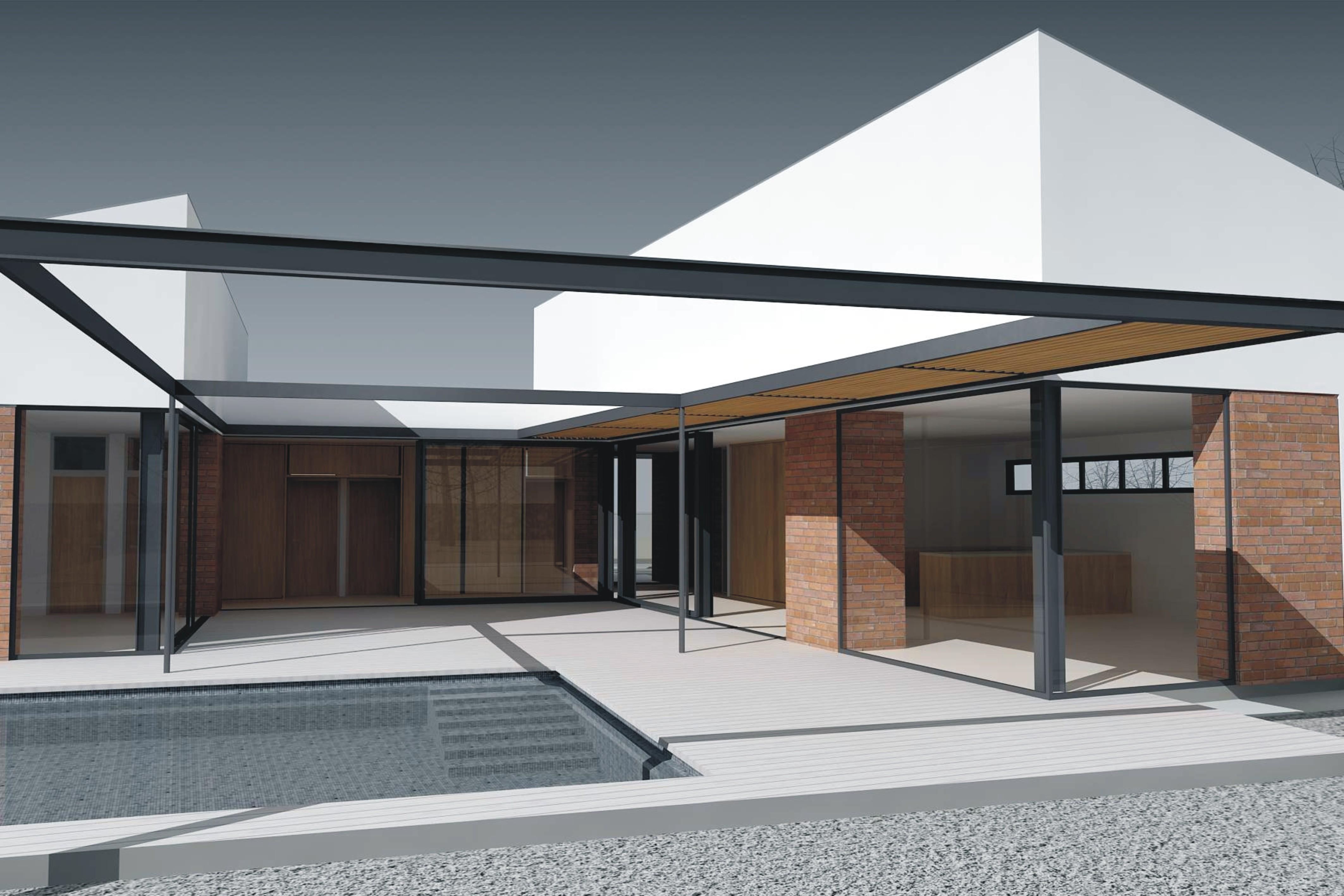 Projekt stavby rodinného domu IX 04