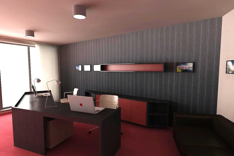 Návrh interiéru kancelárie 02