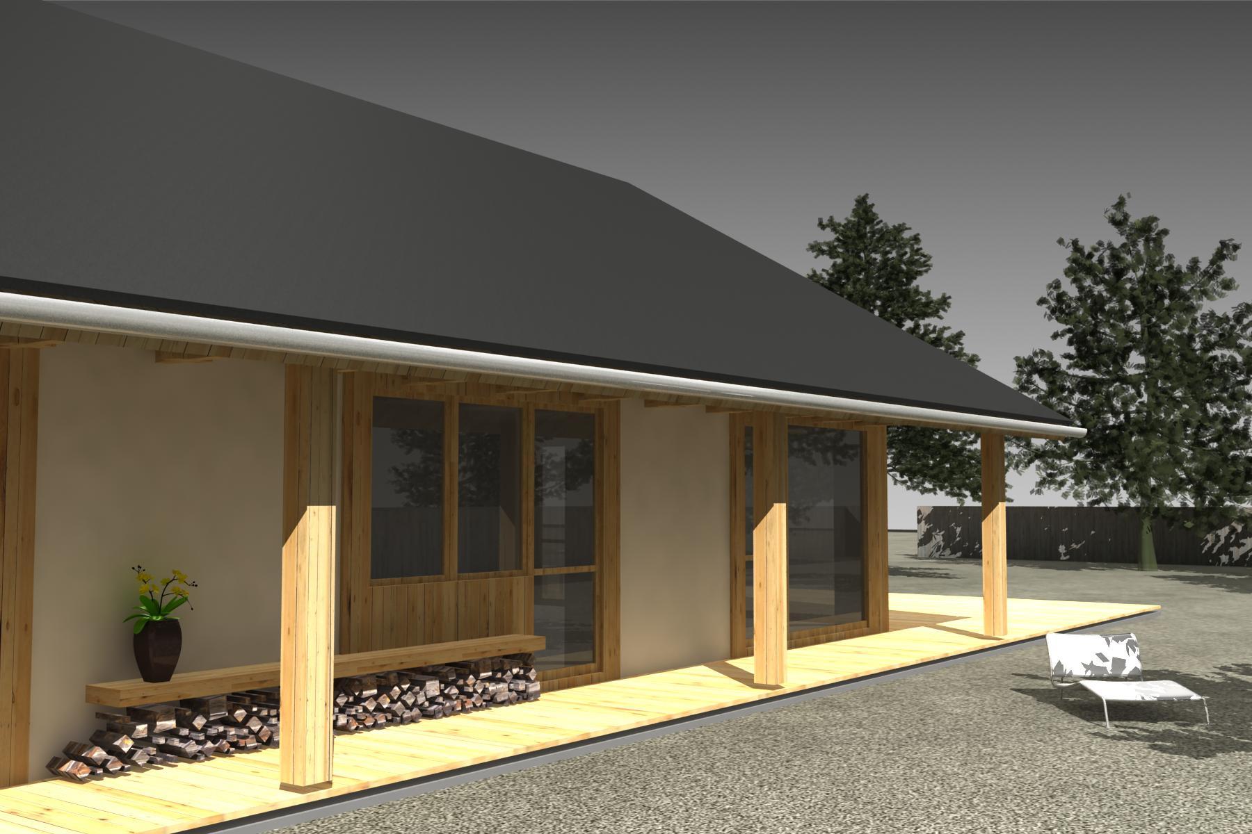 Projekt stavby rodinného domu III 03