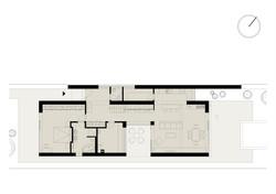 Projekt stavby rodinného domu V 16