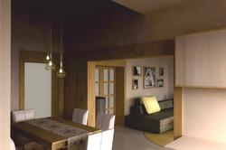Projekt interiéru RD II 02