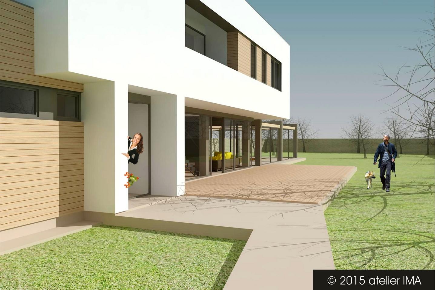 Projekt rodinného domu VIII 03