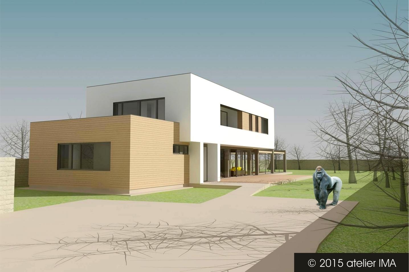 Projekt rodinného domu VIII 01