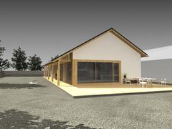 Projekt stavby rodinného domu III 01