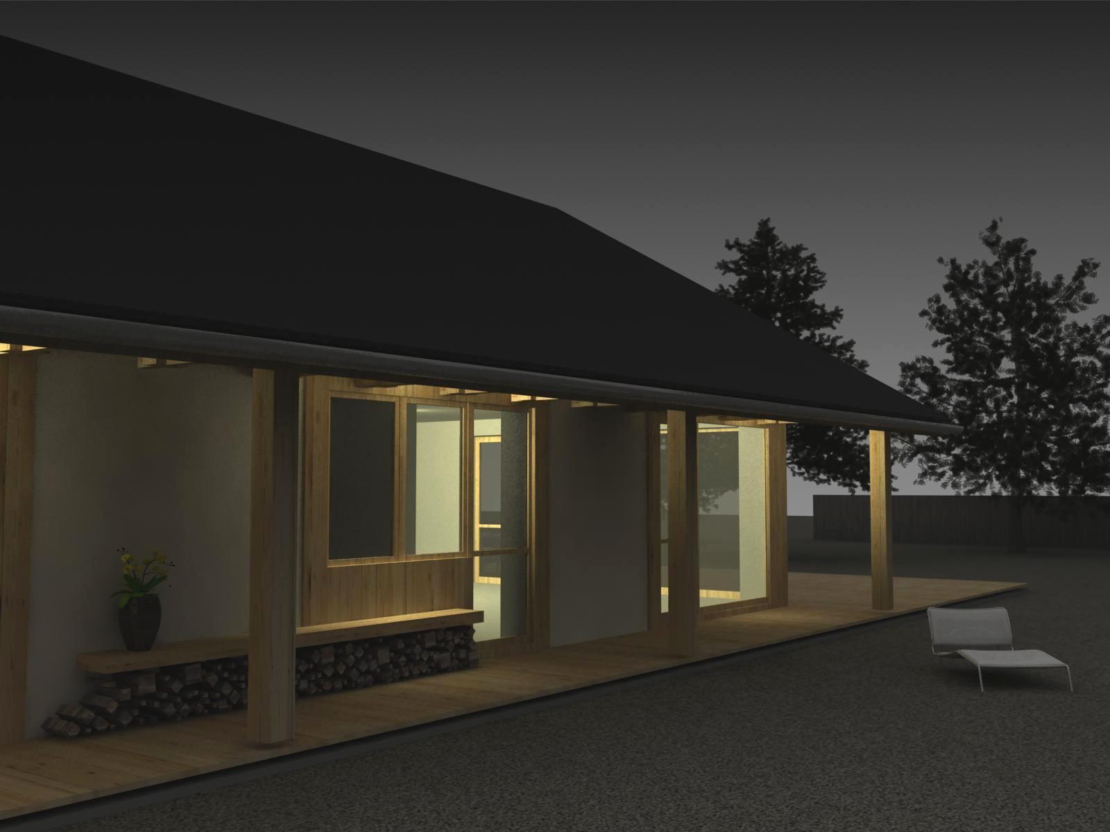 Projekt stavby rodinného domu III 07