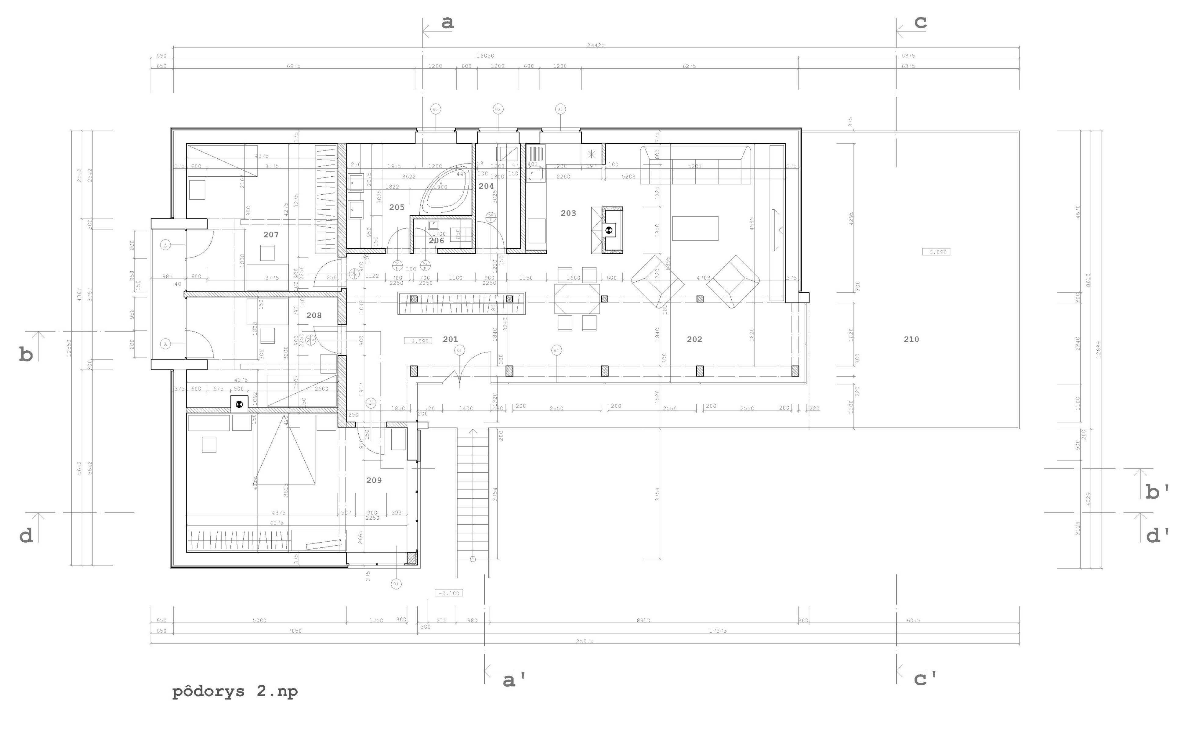 Projekt stavby rodinného domu I 07