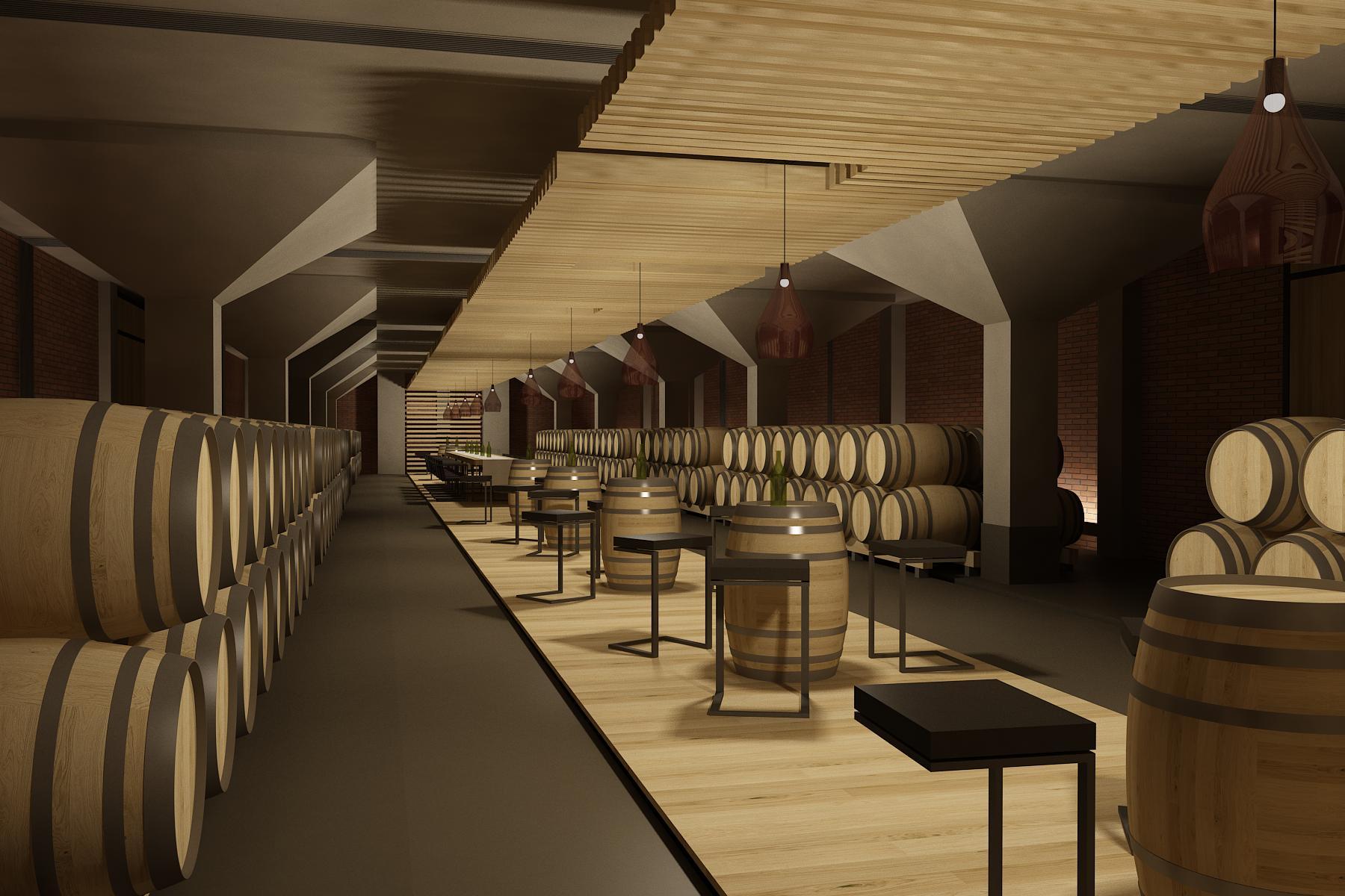 Interiér vínnej pivnice Pezinok 08
