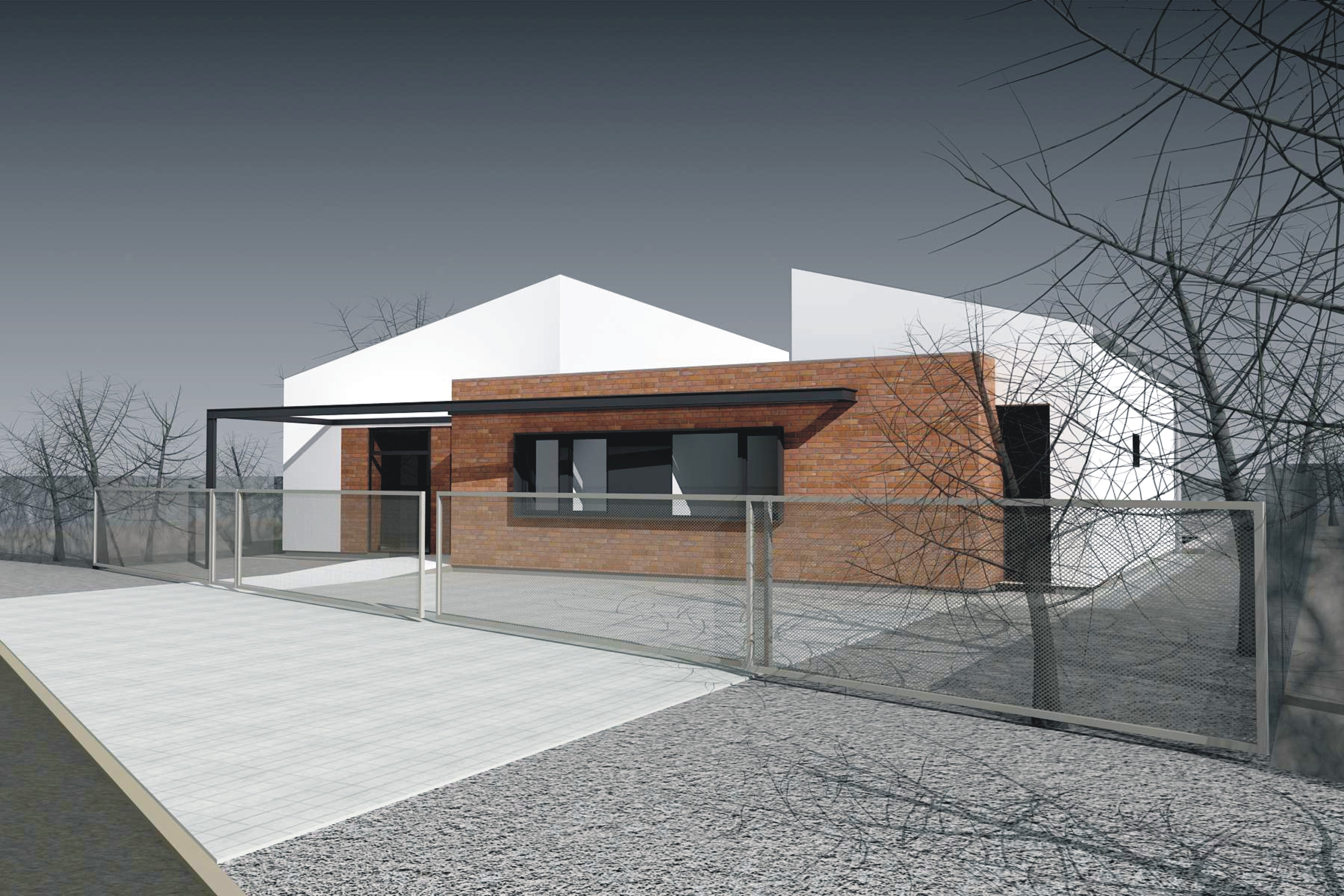 Projekt stavby rodinného domu IX 01