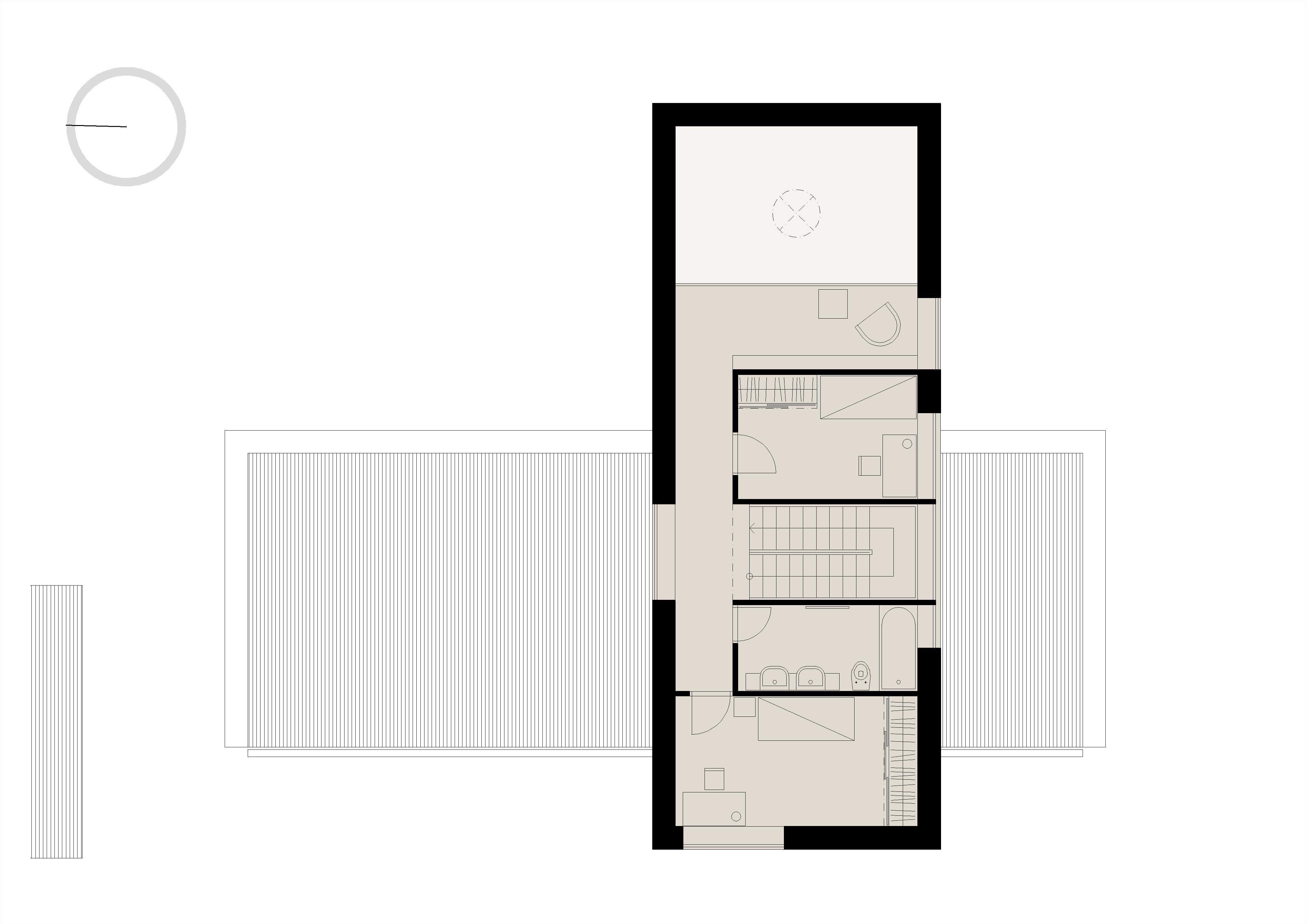 Projekt stavby rodinného domu IV 09
