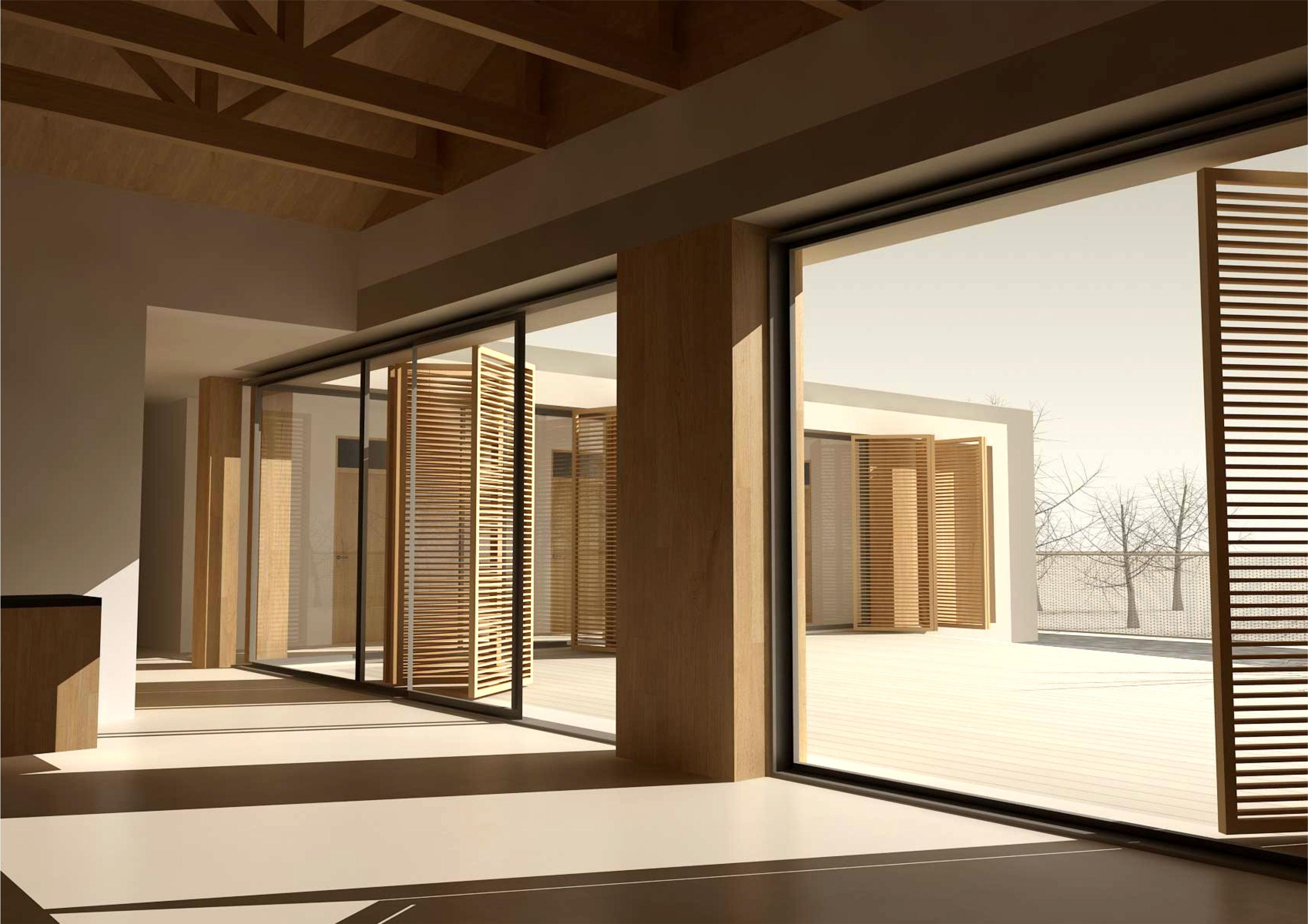 Projekt stavby rodinného domu VII 08