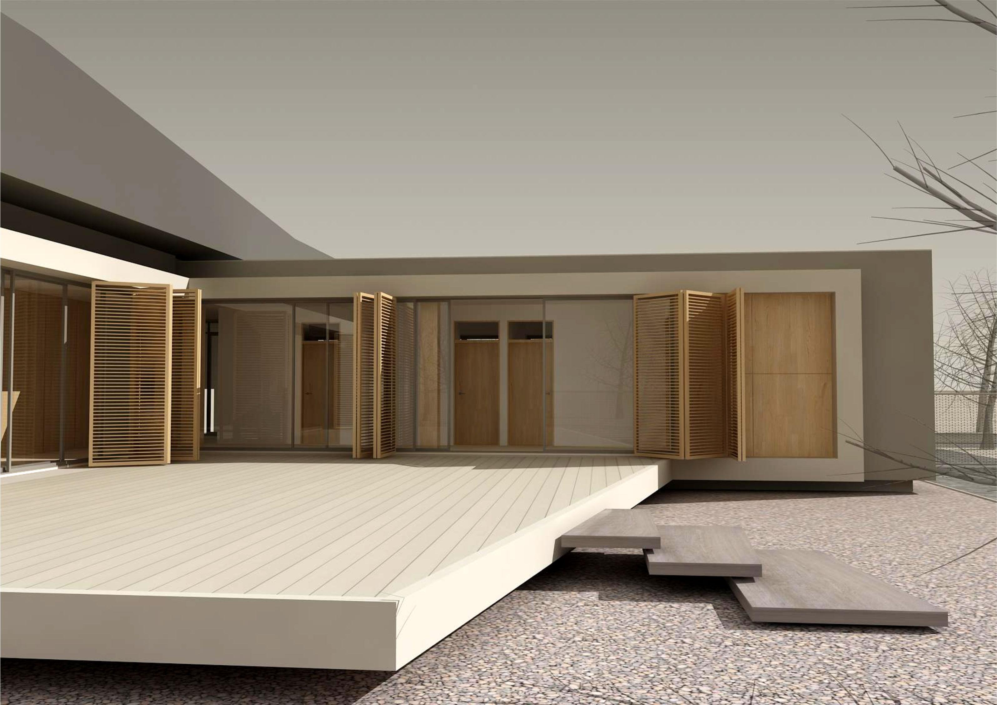 Projekt stavby rodinného domu VII 05