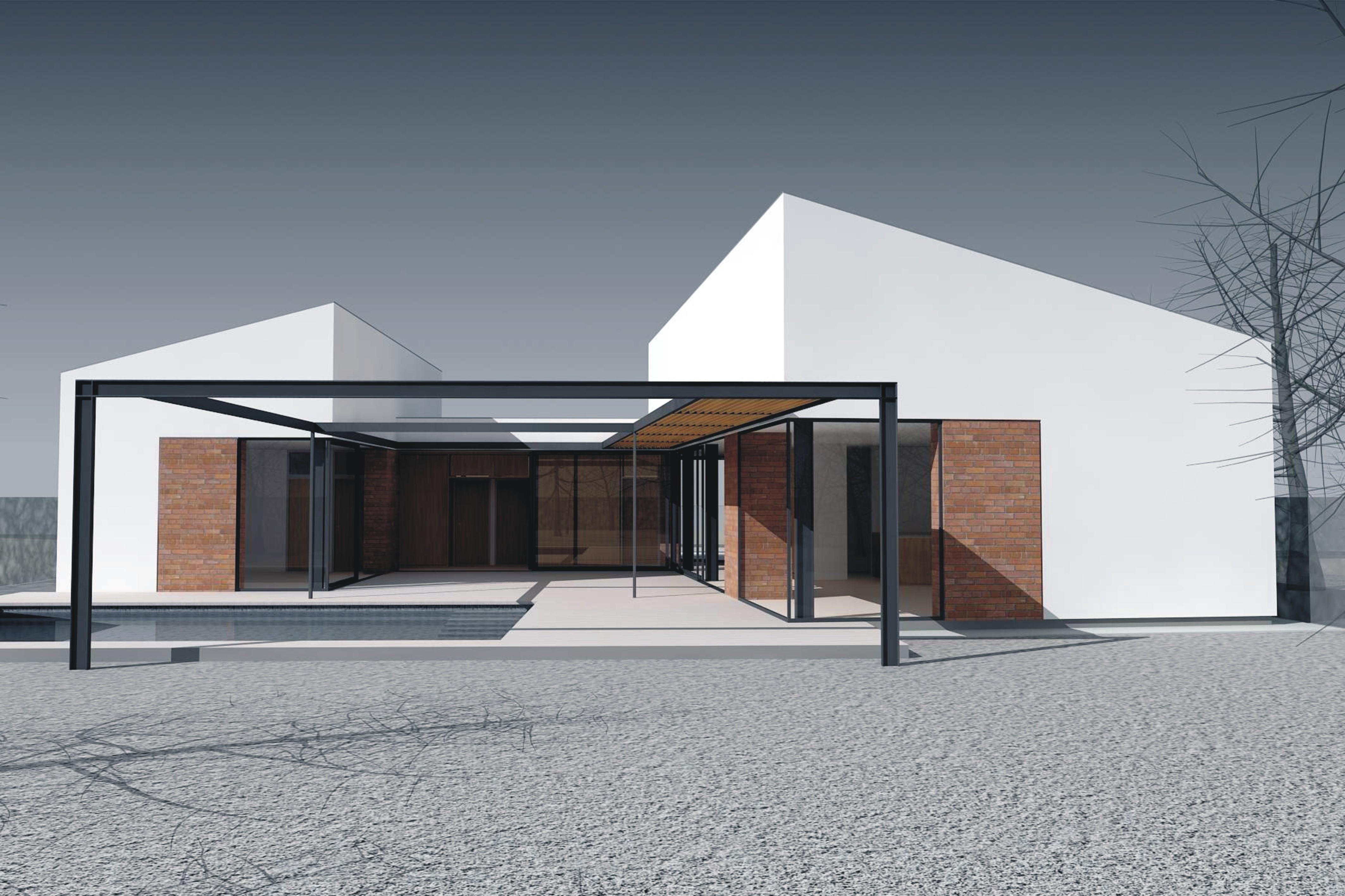 Projekt stavby rodinného domu IX 03