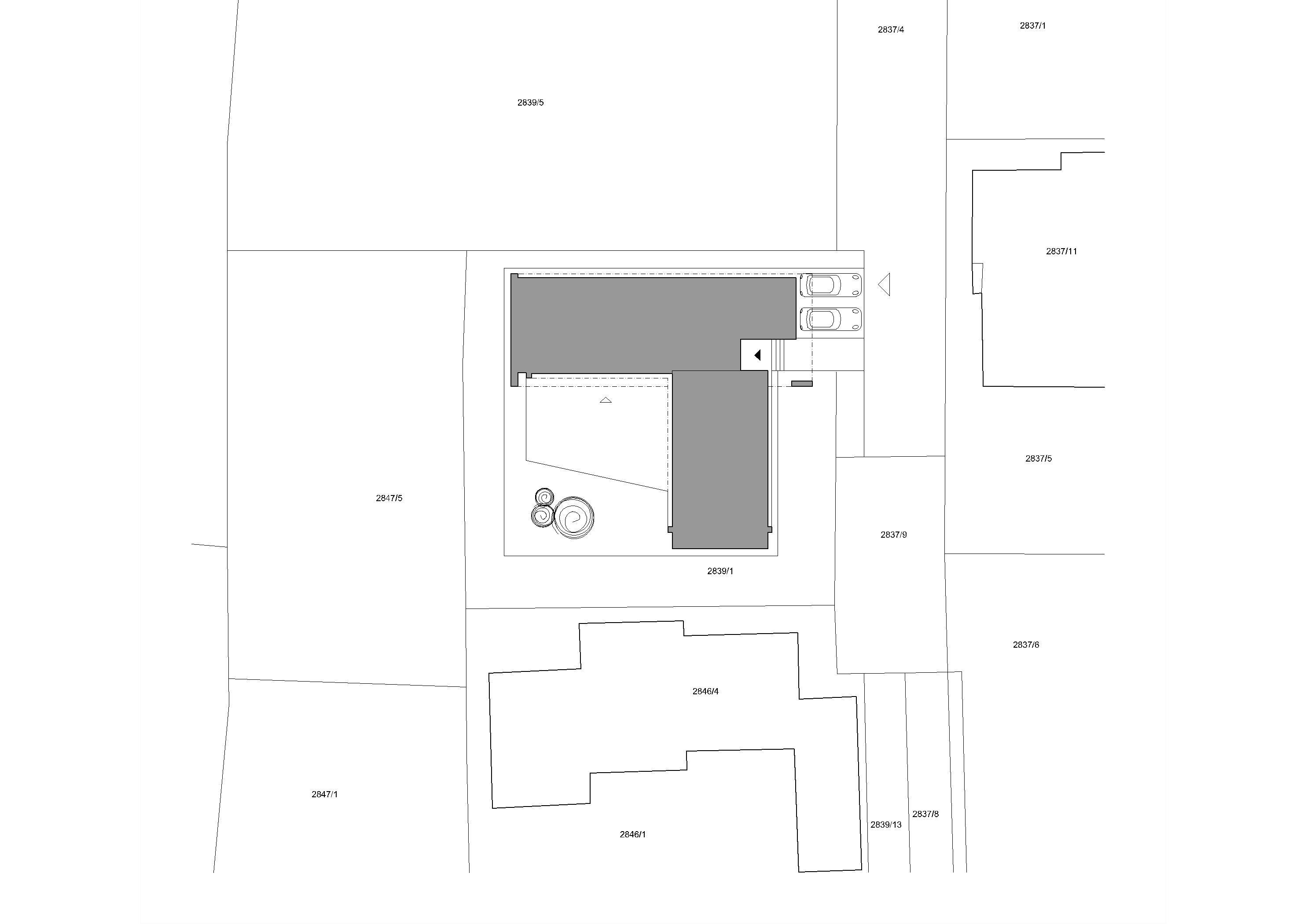 Projekt stavby rodinného domu VII 09
