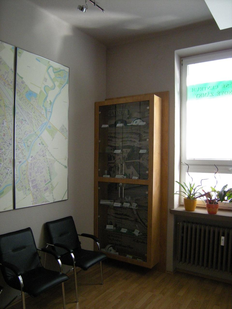 Projekt interiéru info centra NZ 04