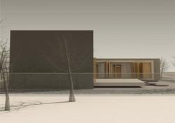 Projekt stavby rodinného domu VII 03