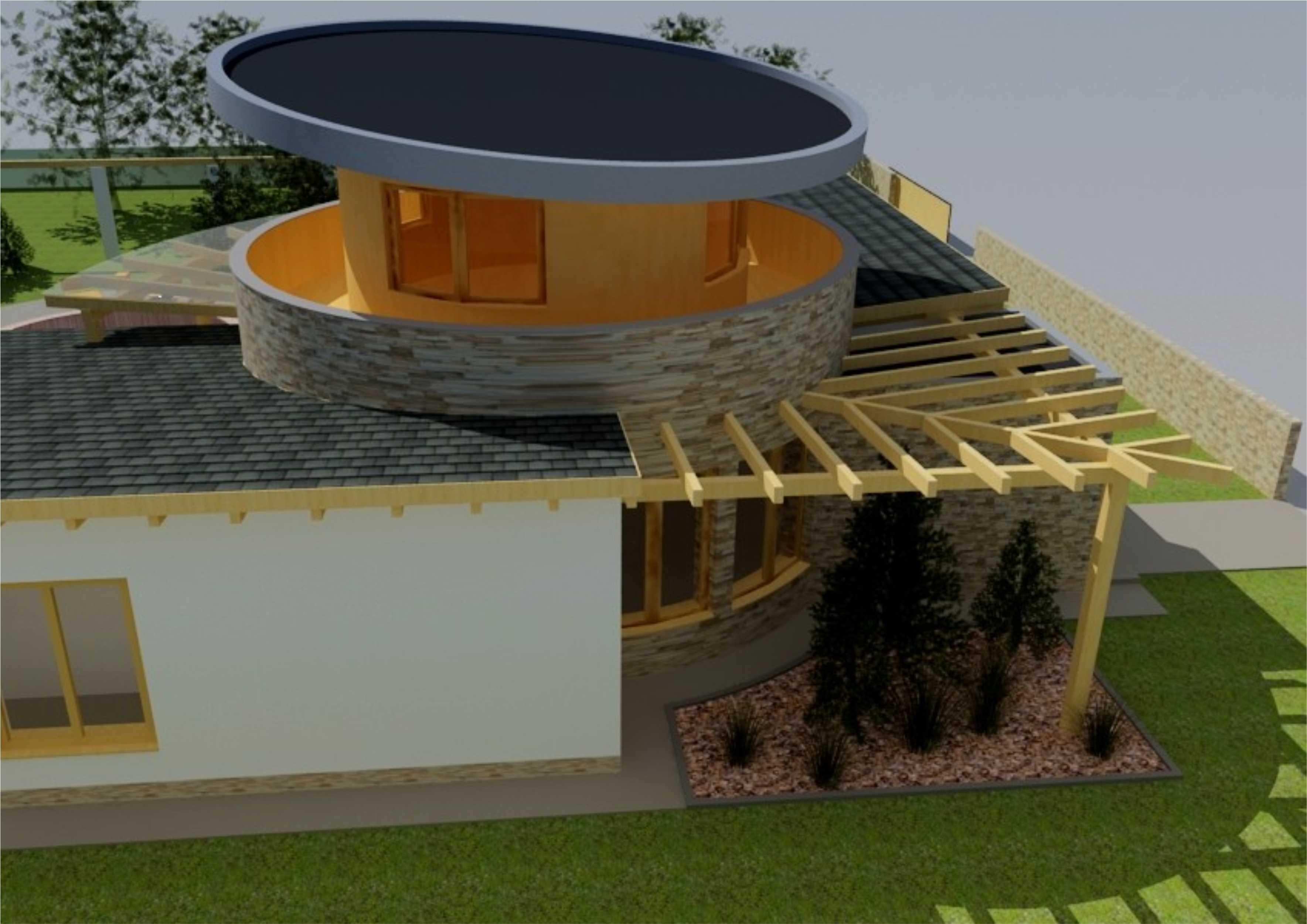 Štúdia stavby rodinného domu II 09
