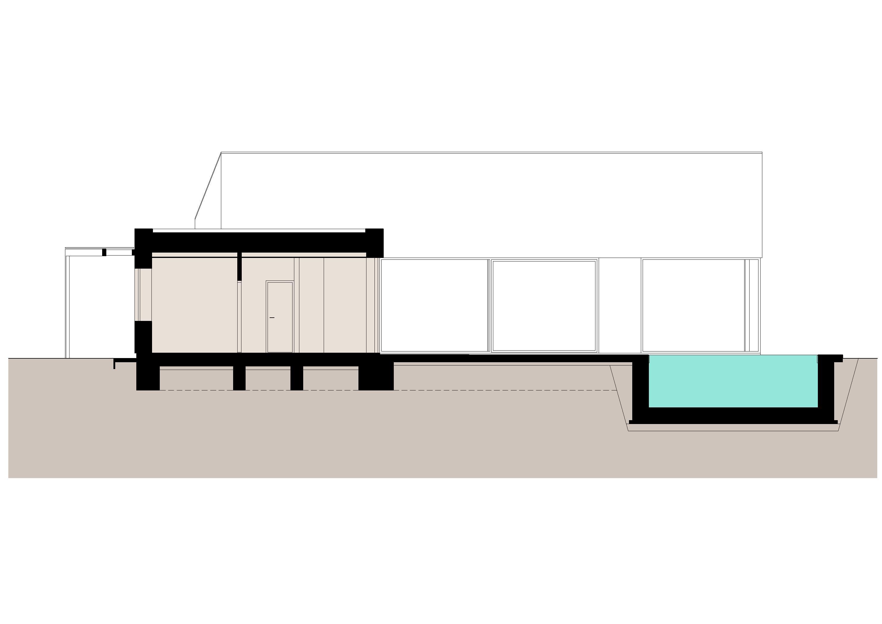 Projekt stavby rodinného domu IX 11