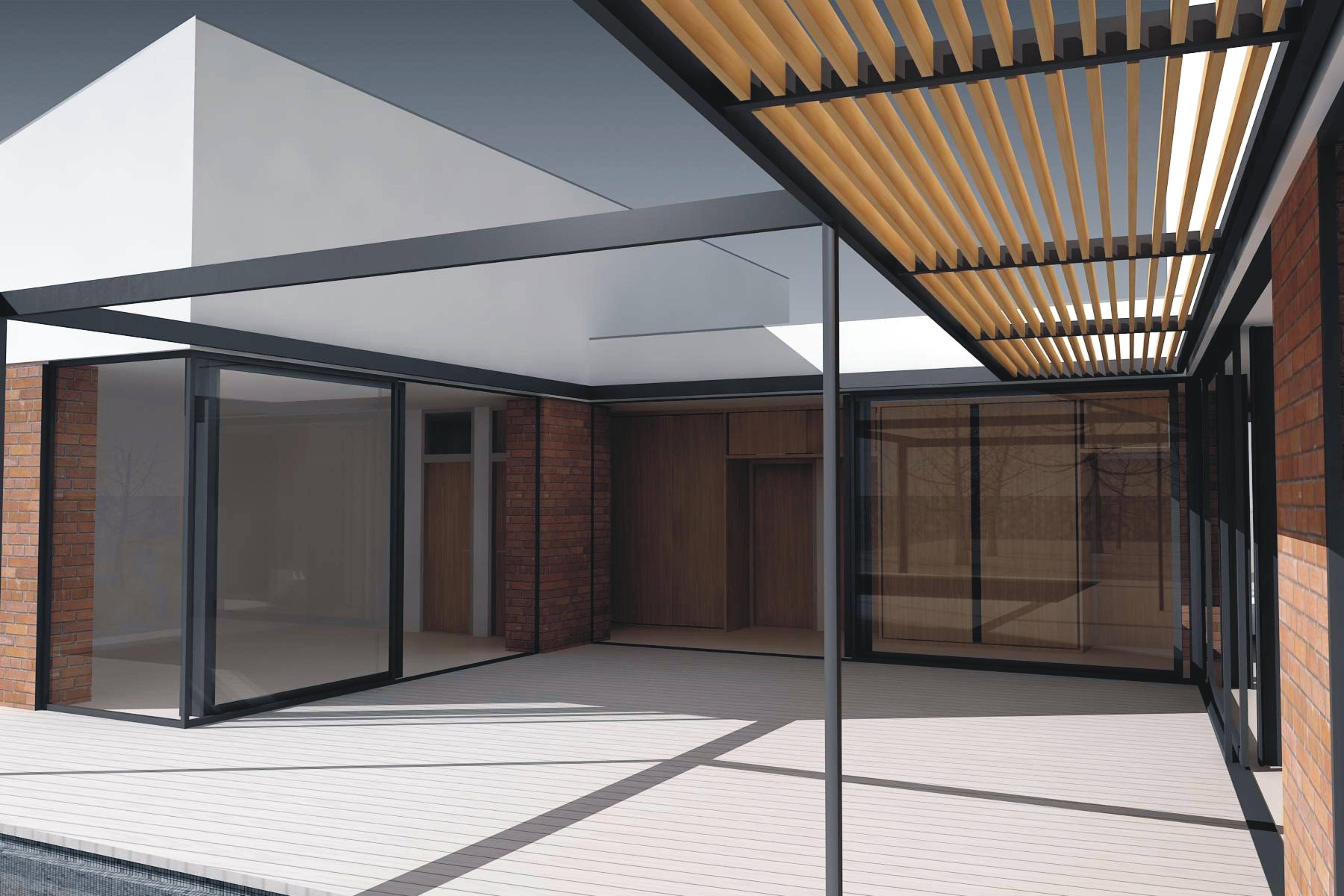 Projekt stavby rodinného domu IX 05