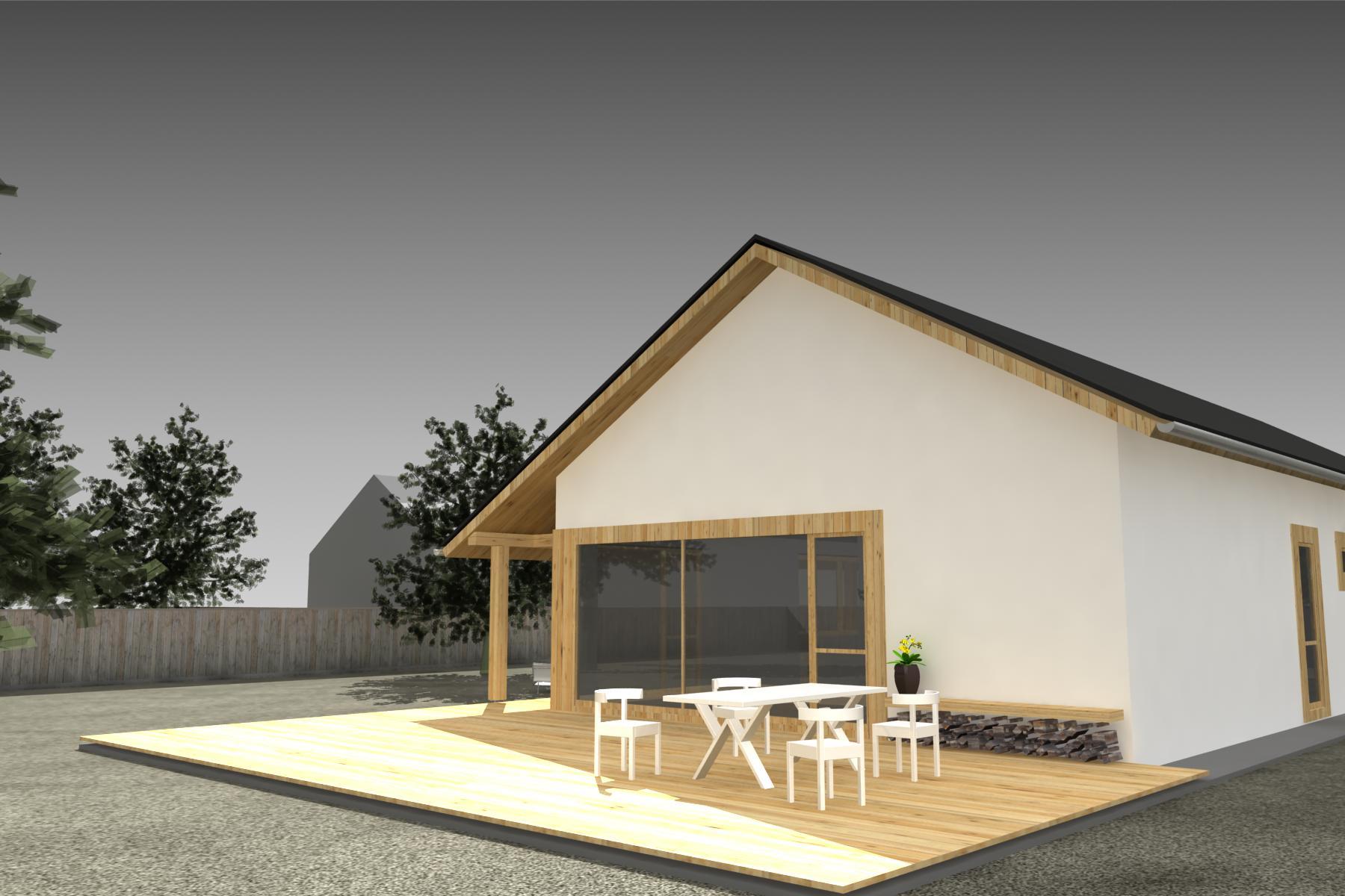 Projekt stavby rodinného domu III 05