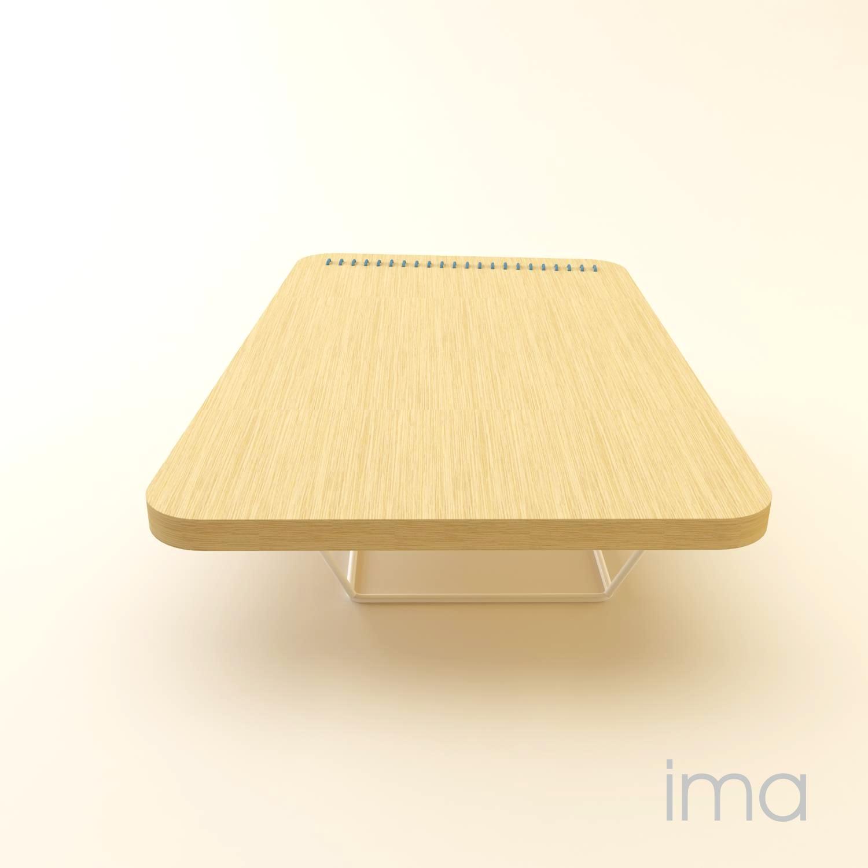 Dizajn stolíka Prešívanec 08