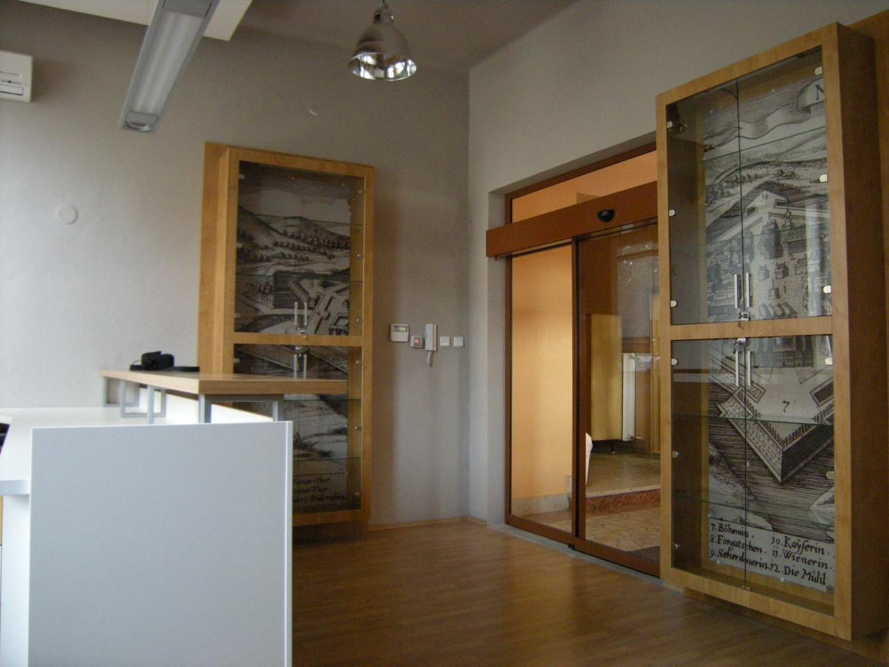 Projekt interiéru info centra NZ 06