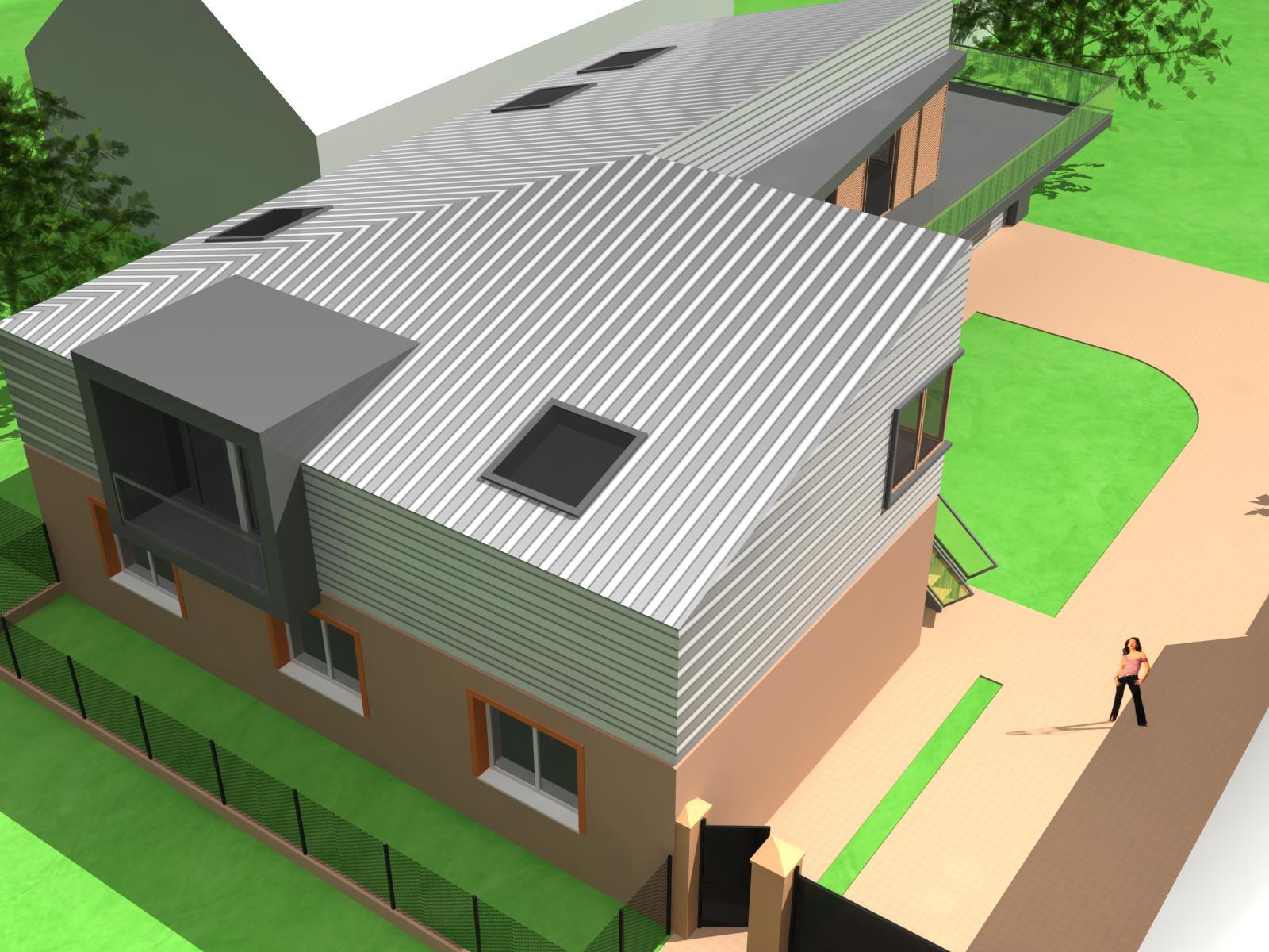 Projekt stavby rodinného domu I 05