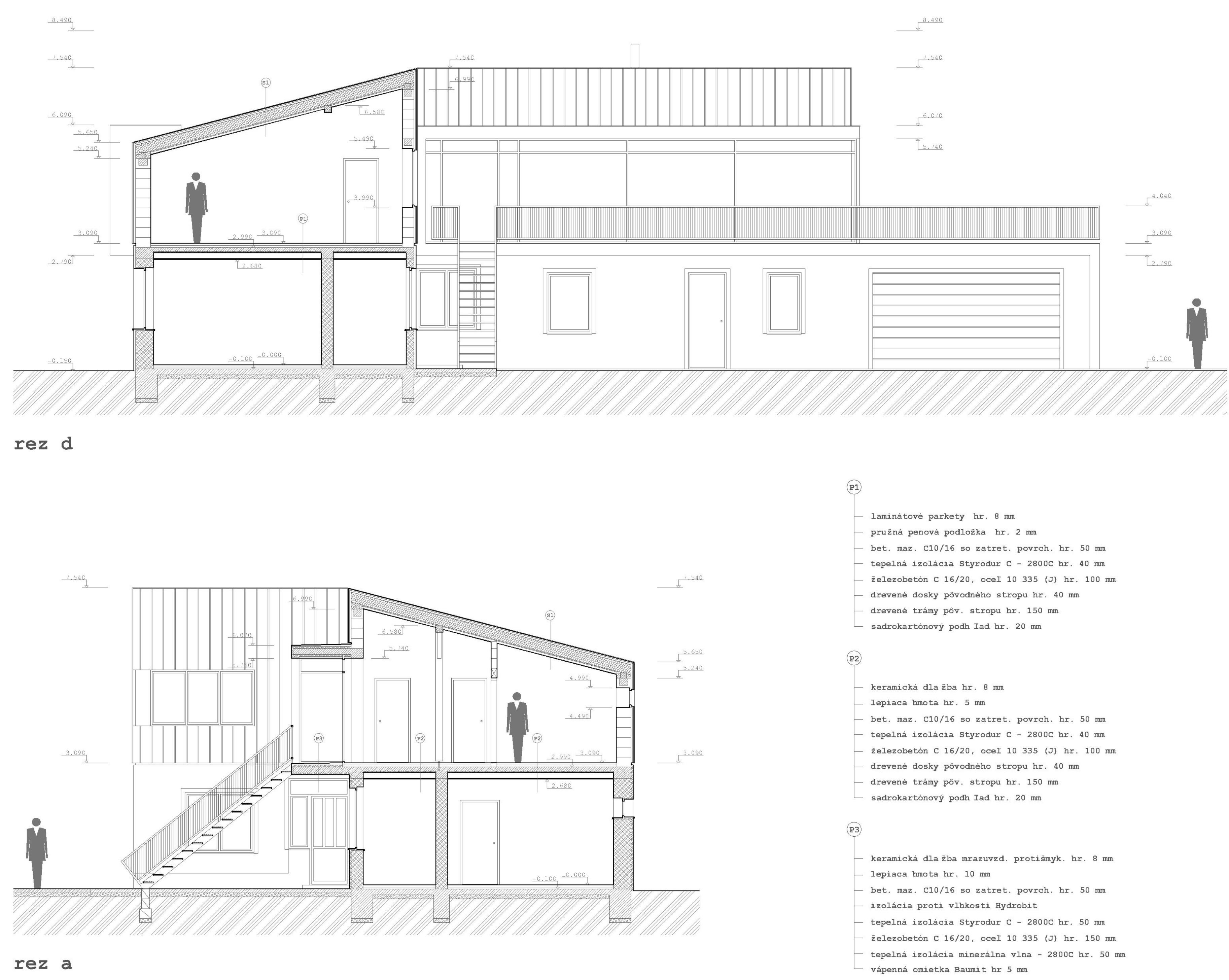 Projekt stavby rodinného domu I 08