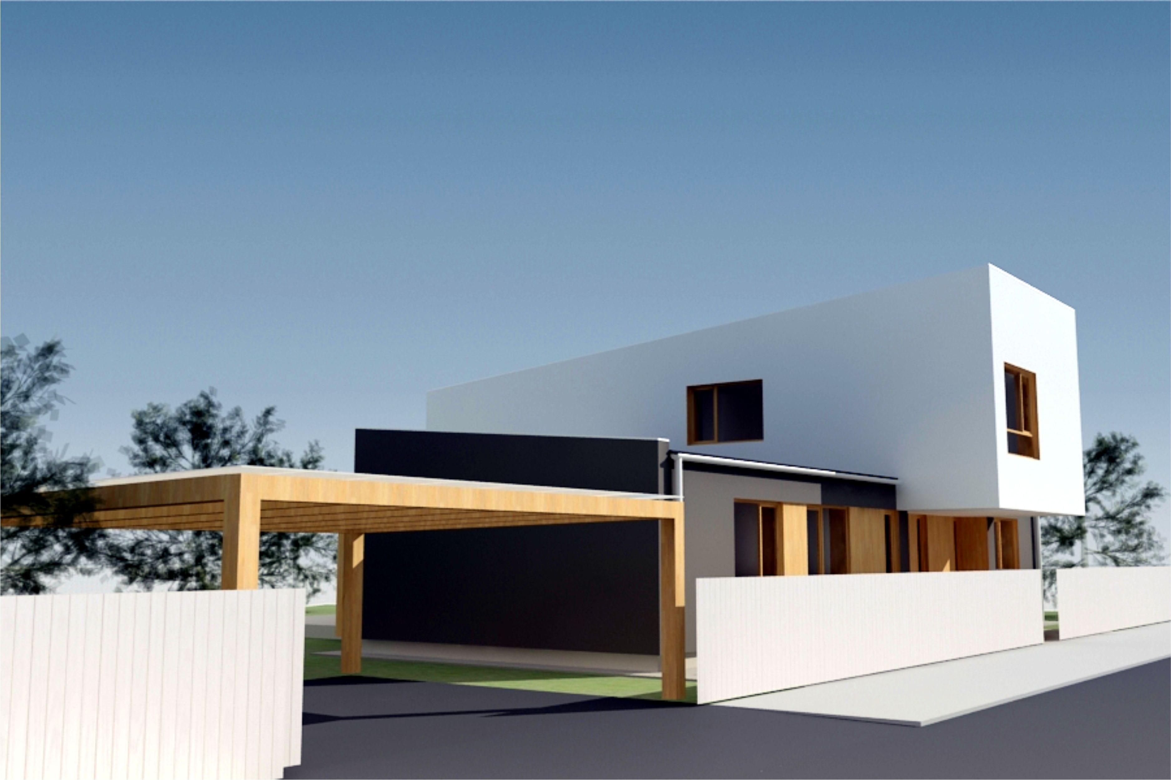 Projekt stavby rodinného domu IV 06