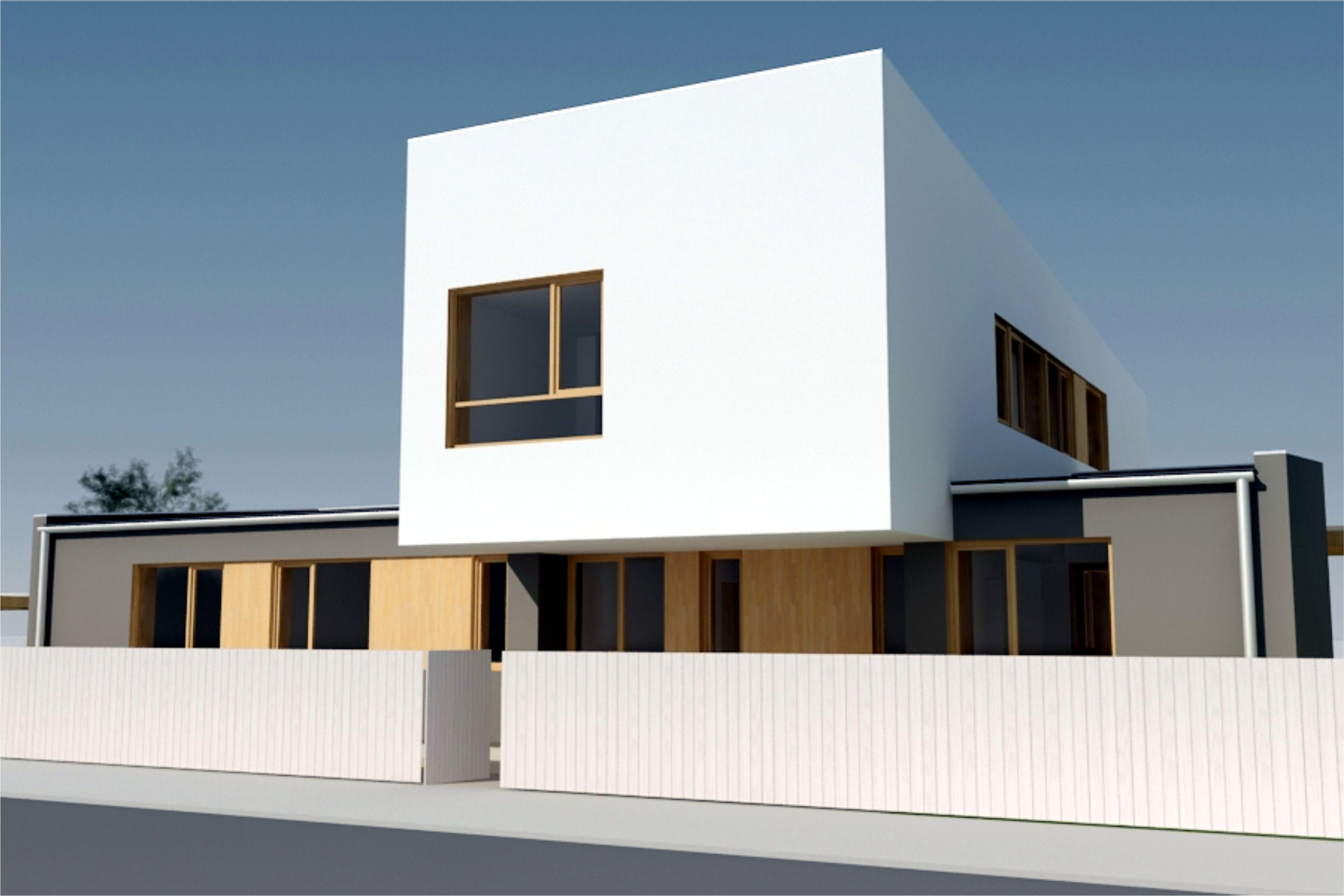 Projekt stavby rodinného domu IV 01