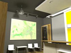 Projekt interiéru info centra NZ 11