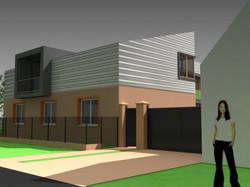 Projekt stavby rodinného domu I 01
