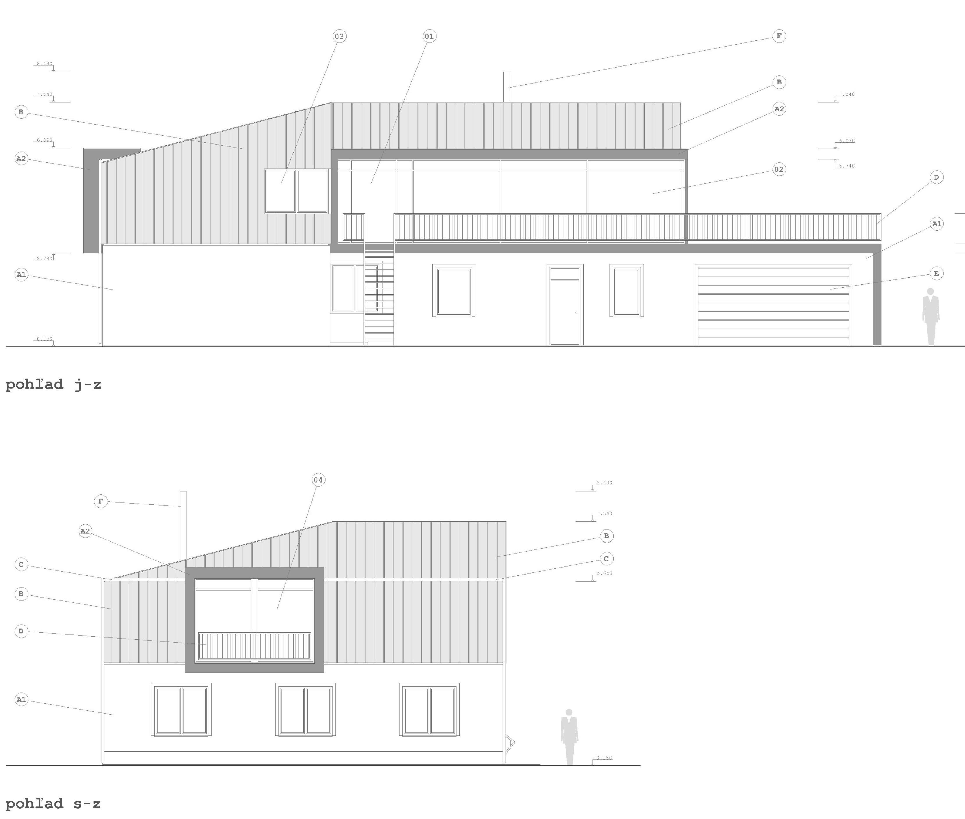 Projekt stavby rodinného domu I 09