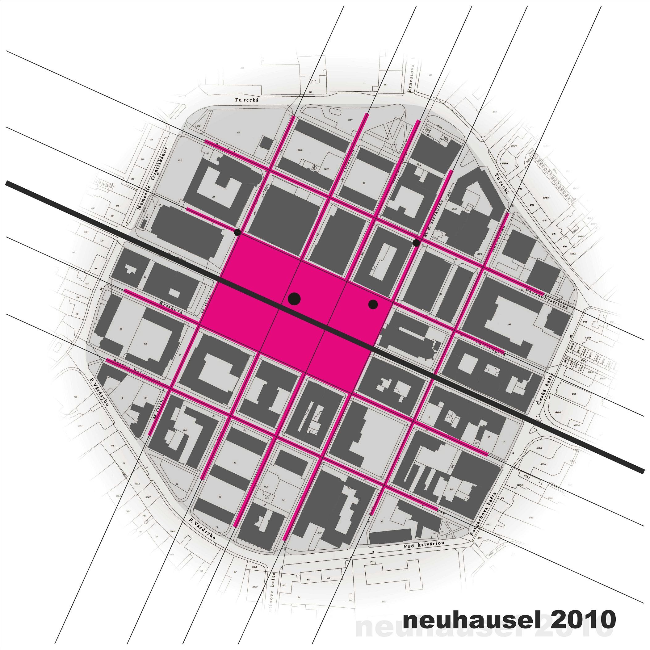 Štúdia mestské zásahy Nové Zámky 01