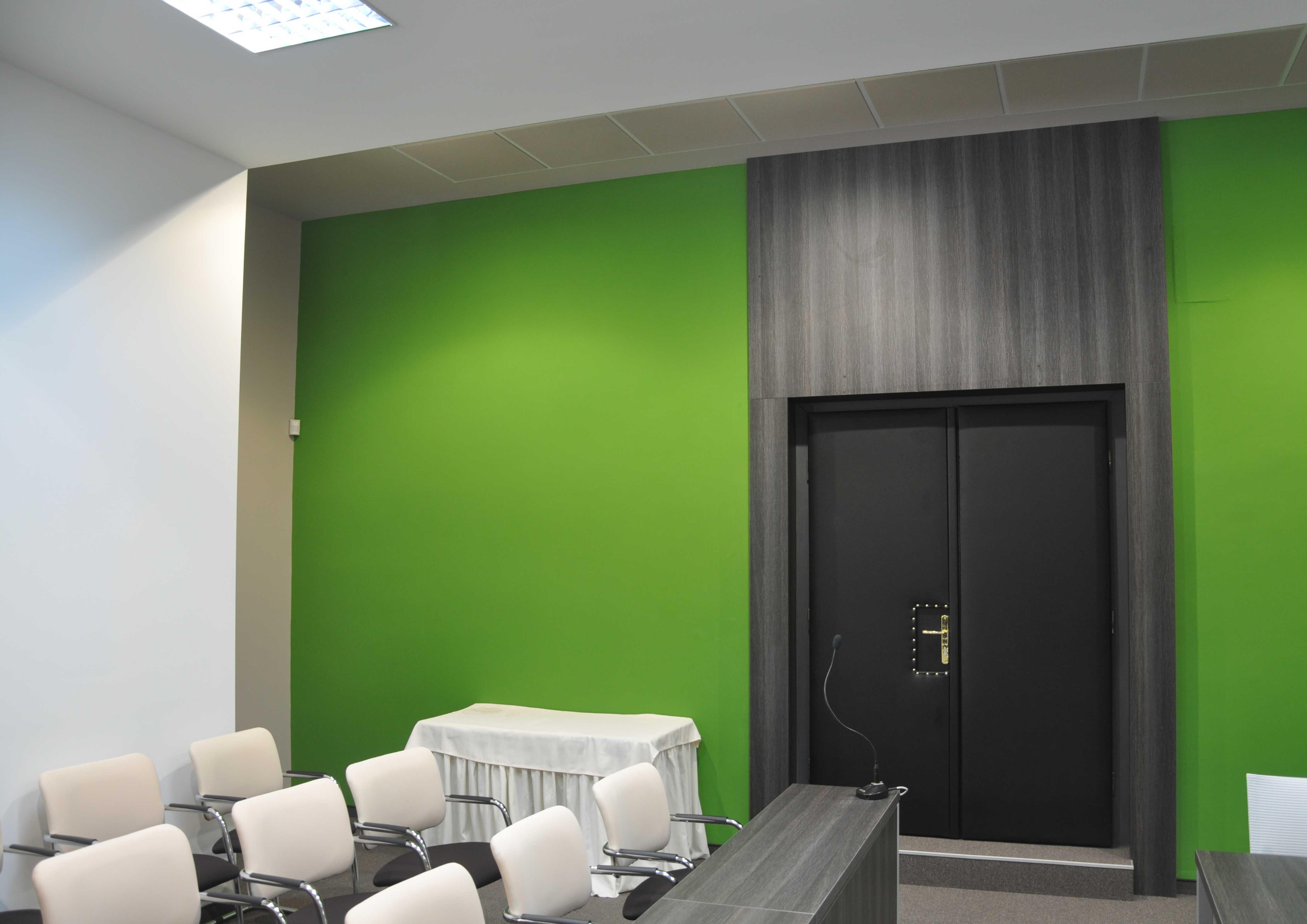 Projekt interiéru zasadačky NZ 06
