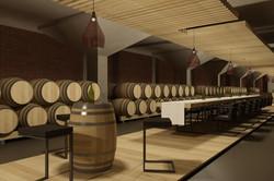 Interiér vínnej pivnice Pezinok 02