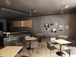 Projekt interiéru vinotéky NZ 01