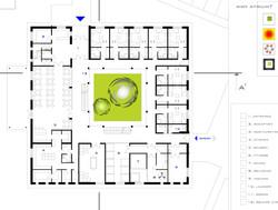 Štúdia stavby penziónu Square 06