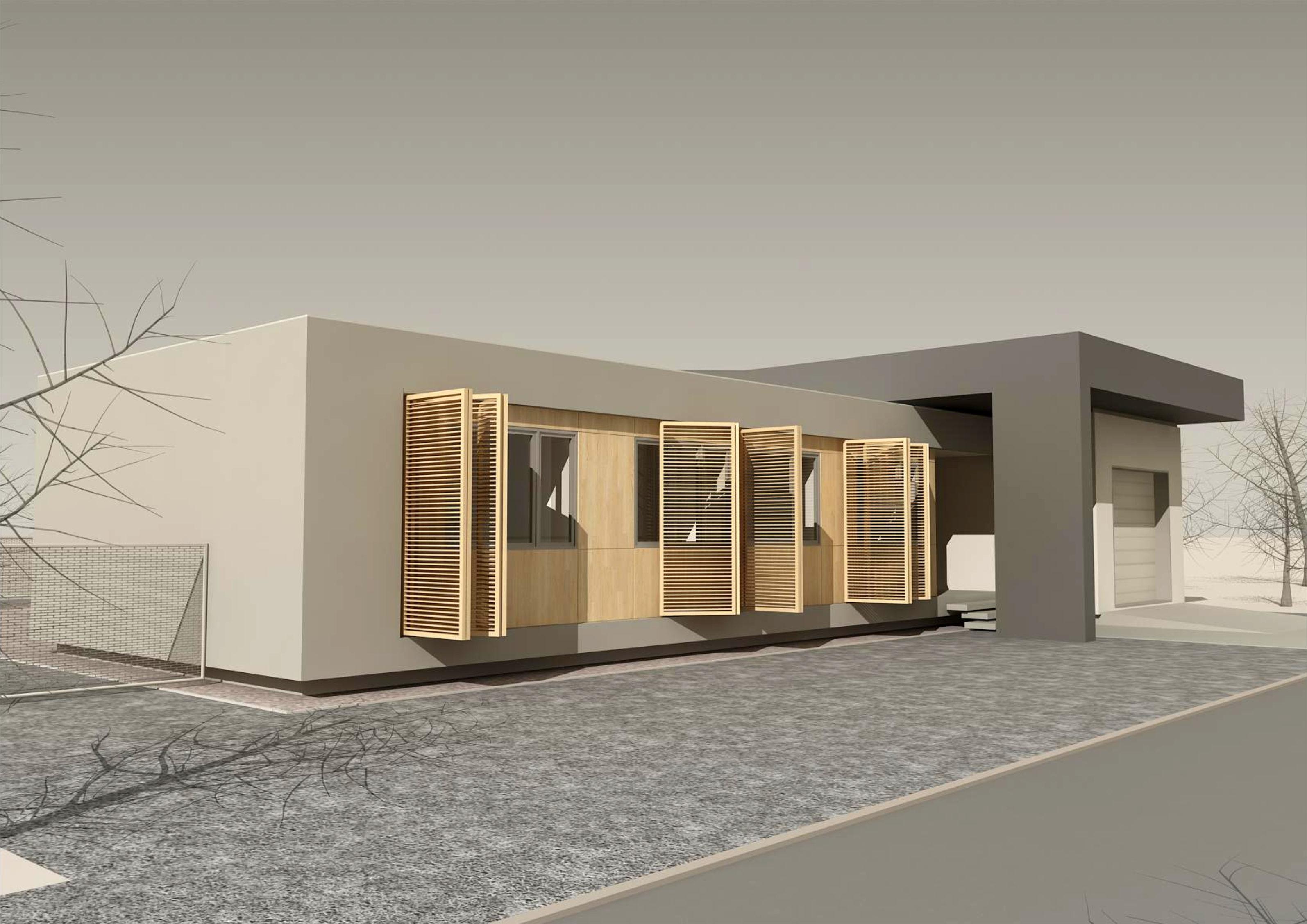 Projekt stavby rodinného domu VII 04