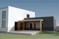 Projekt stavby rodinného domu IV 03