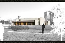 Projekt fasády kina Mier NZ 06